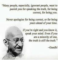 gandhi courage