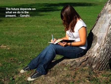 www.thoughtsnlifeblog.com   Gandhi - Journaling
