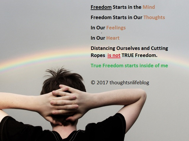 Freedom thoughtsnlifeblog