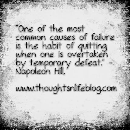 Quote failure napoleon hill