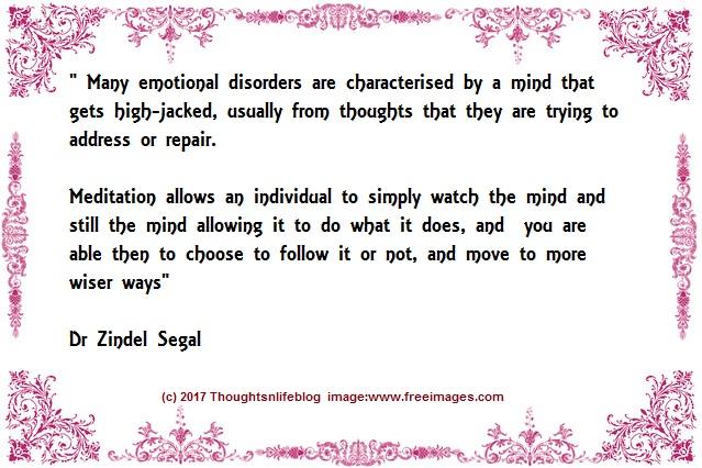 A mind and Meditation