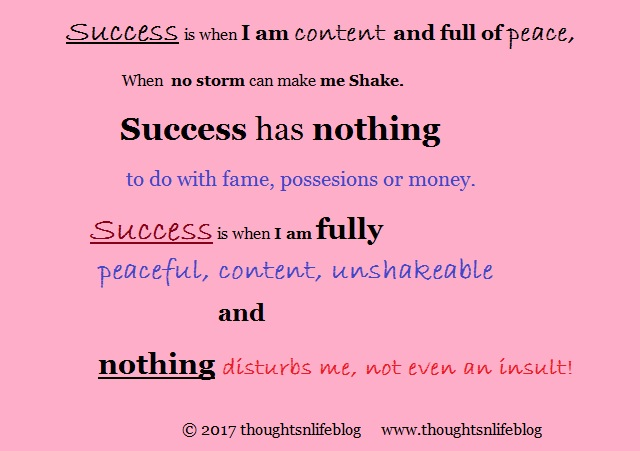 success - thoughtsnlifeblog