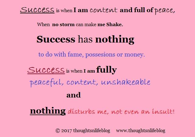 success - thoughtsnlifeblog