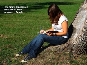 www.thoughtsnlifeblog.com   Gandhi - Journaling