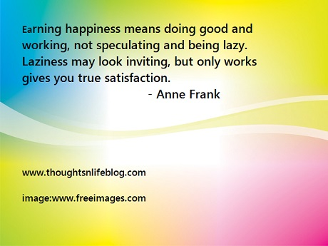 anne frank happiness quote