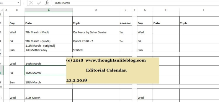 bloggingcalendar