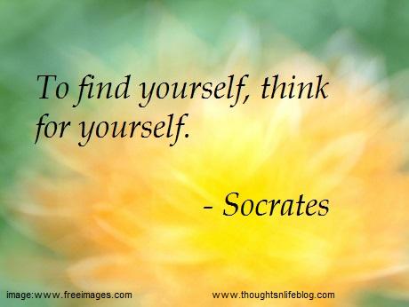 Quote. Socrates