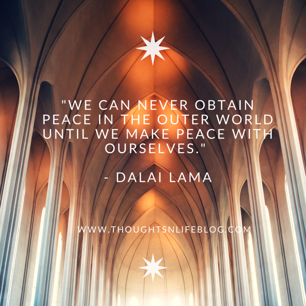 Quote Inner Peace By Dalai Lama