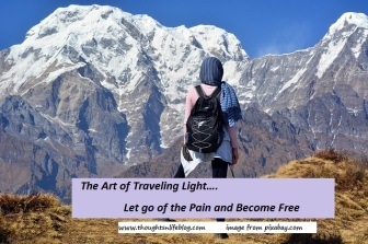 www.thoughtsnlifeblog.com The art of traveling light.