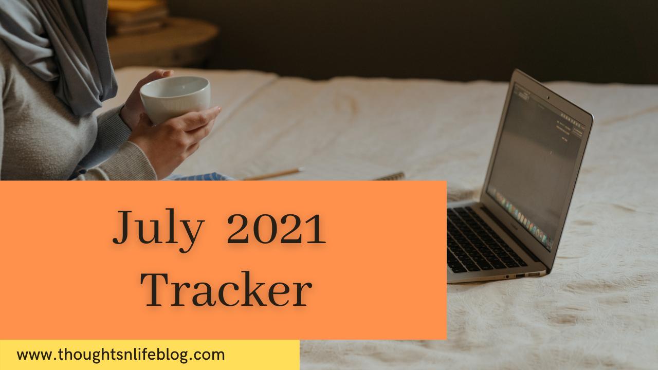 July 2021 Tracker