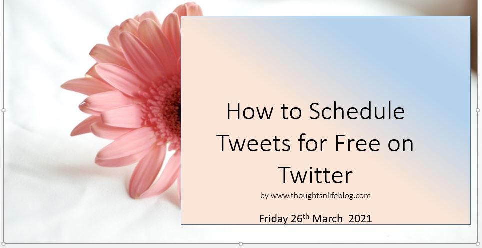 How to Schedule Your Tweets for Free on Twitter.